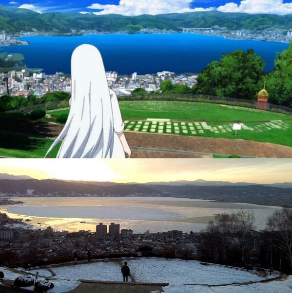 ブリュンヒルデで立石公園キタ━(゚∀゚)━! 去年撮った写真にたまたま同じようなアングルがあったので並べてみる #gok