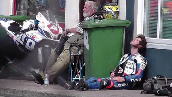 """@emilie_rose46: My favourite picture from TT 2014 for sure it's awesome #guythelegend http://t.co/2orvtMj8JB""  Just need big issue to sell!"