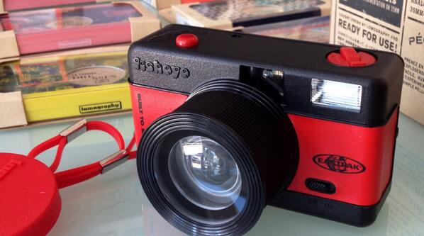 Retweet for a chance to win this limited edition Fisheye camera!! (USA) #lomography #film #NYC #filmisnotdead http://t.co/pWCk8mlxkN