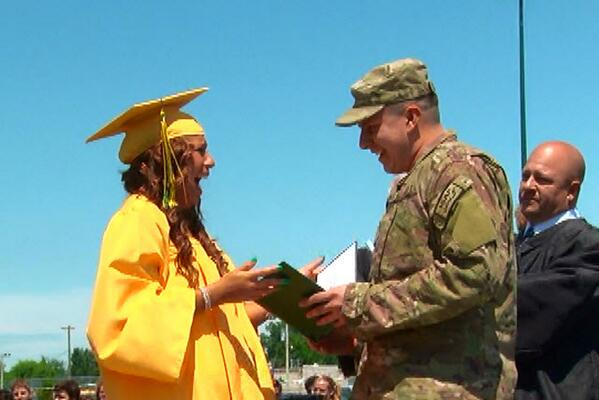 Brother keeps promise to sister at Clay HS graduation - http://t.co/3CvsccKsAM http://t.co/ChRhaFnHHf
