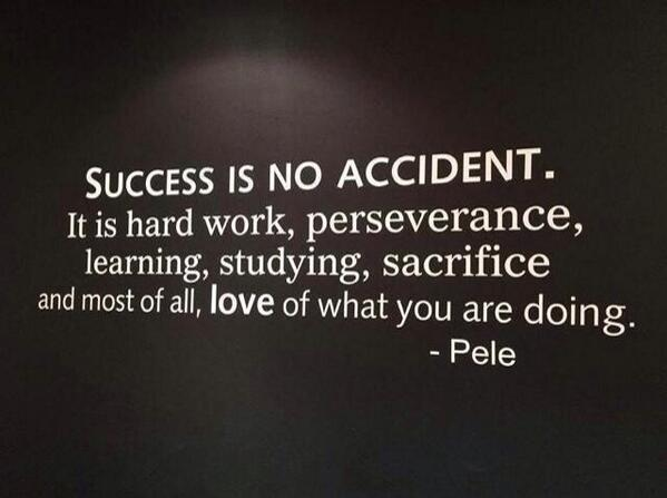 Success is no accident RT @Brianburnsadp: http://t.co/D8Z5ib2ozn