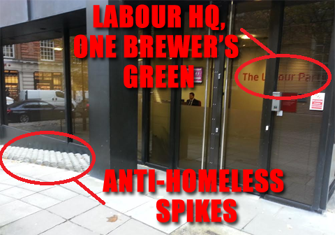 """These """"homeless spikes"""" are all over the place and have been for ages  http://t.co/FzoL2F6LrQ"""