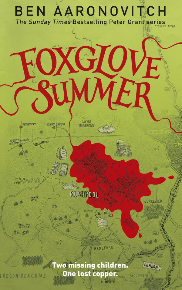 Cover Reveal! Foxglove Summer http://t.co/7GaxLCwGsn