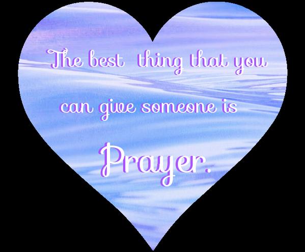 The best thing that you can give someone is Prayer.  #prayer #pray #praying #holyspirit #angels #god http://t.co/RWxRvyPfWG
