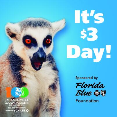 Our first $3 day of the summer is next Wednesday, June 18! All general admission is just $3! Sponsored by @FLBlue! http://t.co/QsCQ5EEZrW