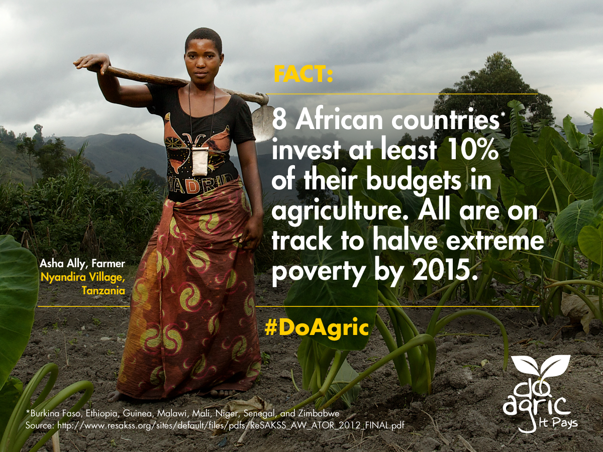 """RT @gatesfoundation """"Why invest in ag?  Here's 1 good reason: it helps lift families out of extreme poverty"""" #doagric http://t.co/LJw0OrnL6u"""