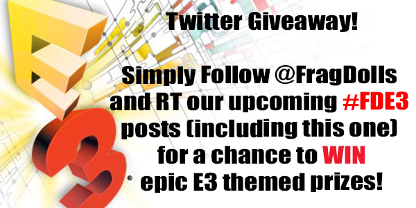 Couldn't make it to E3? Here's your chance to win epic swag and other gaming goodies! #FDE3 http://t.co/BQIqW5gRg8