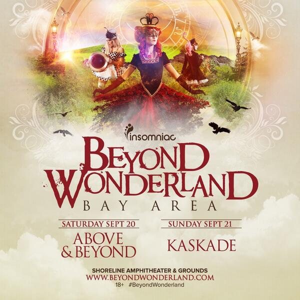 Want free tickets to #BeyondWonderland? St. John (@sofierce) has them today at 6pm on @997now. TUNE IN. http://t.co/4AlF4n2kPq