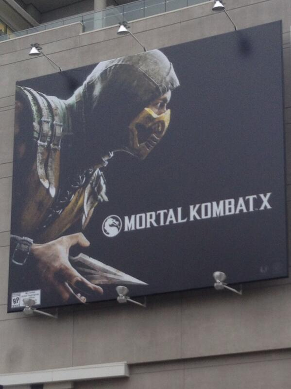 Alexis Cozombolidis  (@LetsGetLexi): I saw this and knew it would get @hunterpence excited #E32014 #MortalKombatX http://t.co/b2fkX3zAGm