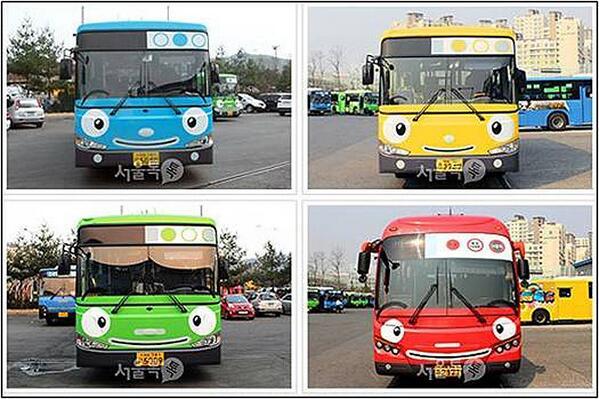 [부산소식] 트친님들, 따끈따끈한 대박 소식입니다. 부산시가 11월부터 타요버스를 도입해 운영합니다. ^^ 자세히 만나보실까요? http://t.co/P1AVE2W3xb http://t.co/m0A4Jbz1Ih