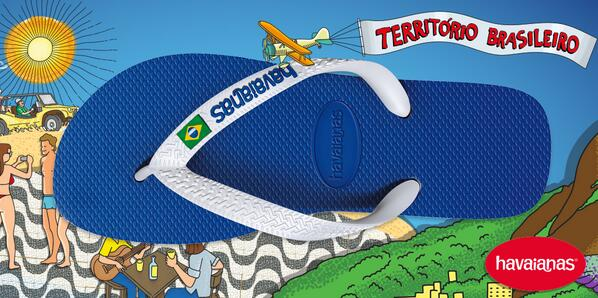 Share your brazilianness and find out how to get your Havaianas at http://t.co/y6vCihaeIT #territoriobrasileiro http://t.co/fZYQGMmmkx