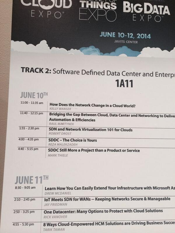 Looking forward to @CumulusNetworks @malekzadeh and @statelessntwrks @kellywanser kicking off #SDDC track today http://t.co/OnUykZF9JU