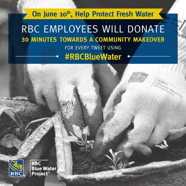 "@nenshi, help? ""@RBC: Till midnight, RBCers will donate 30 mins to community makeover for each RT of #RBCBlueWater! http://t.co/WH7HPCS6l7"""