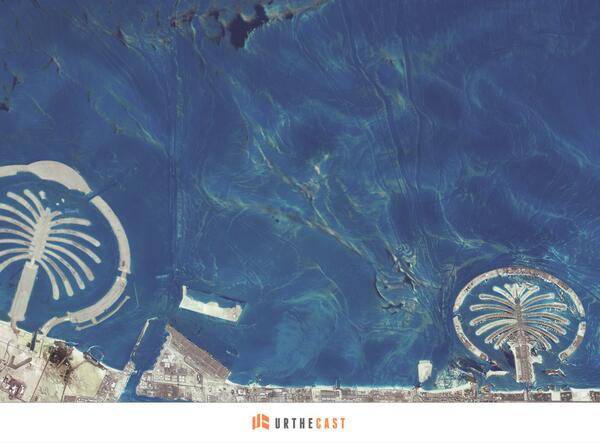 Oh my, Dubai — UrtheCast Releases Imagery of Dubai's Palm Islands: http://t.co/pRhg0bTa9J #URfirstlight #HelloWorld http://t.co/Rh8nlj014F