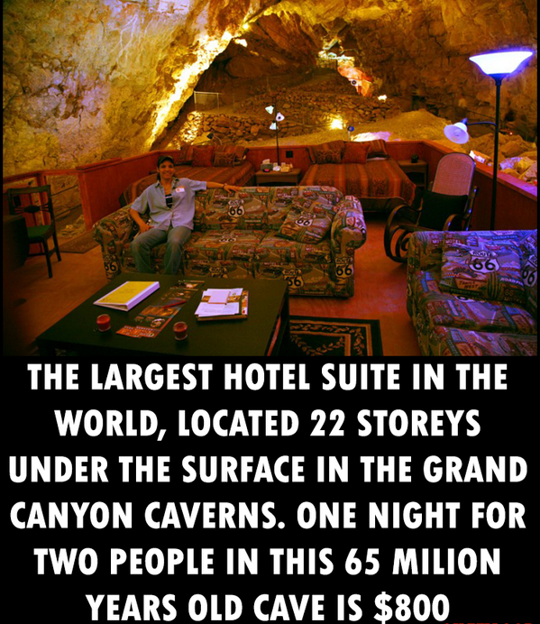 The largest hotel suite in the world: http://t.co/7xyq0lUjzb