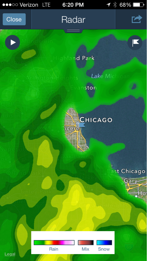 """It's not raining too bad… I should probably check the radar anyway.  …  Oh."" http://t.co/Fz4IRYepwW"