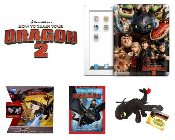 Plus 5 1st Prize Winners #HTTYD2chat Giant Toothless Battle Set & $50 gift card to see the film in theaters http://t.co/ZBVfgZbP7R