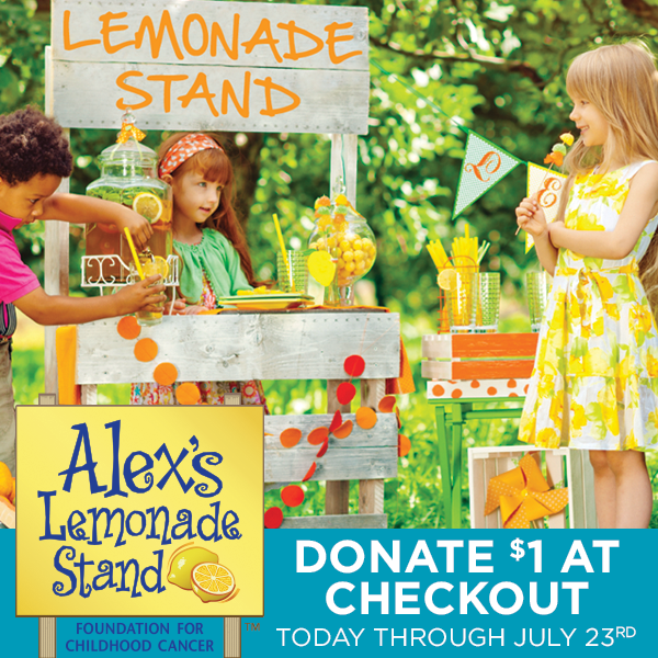 Join us in the fight against childhood cancer & donate $1 to@AlexsLemonadeat#ACMoore-http://t.co/04sd3WYpD8 http://t.co/GN9VvCuNEd