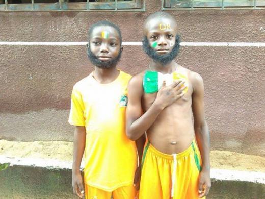 """La """"Drogbarbe"""", les poils de la victoire pour les Ivoiriens !  http://t.co/npDTuXxNYh http://t.co/rAXKbJ3ycW"""