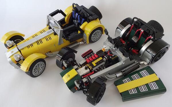 Check out these incredible Lego Sevens http://t.co/FNXIu7k2Is http://t.co/uW1sAZQBIQ