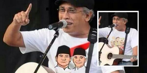 "#TopikPilihan | Fotonya Dimanipulasi untuk Kampanye, Iwan Fals Sebut ""Brengsek"" http://t.co/SruOzP1cTw http://t.co/3cEa5UT7HM"