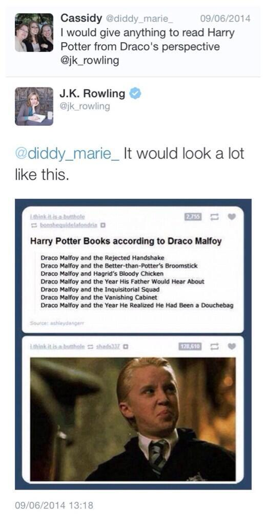 JK Rowling is a queen http://t.co/a5rvXQvjrv