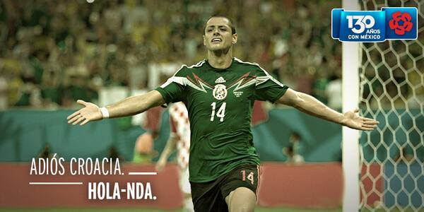 Una vez más, @miseleccionmx está entre los mejores 16 equipos del mundo. #SelecciónBanamex http://t.co/gmE1Srg00m