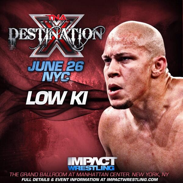From PS104 to @IMPACTWRESTLING I can never fully describe how excited I am to be returning home #DestinationX #TNANYC http://t.co/VvJspVgAvX
