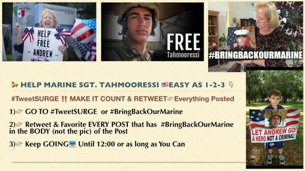 MT @josephmryan1: @HouseGOP Cut funds 2 #Mexico until they free #MarineHeldInMexico #BringBackOurMarine #Tahmooressi http://t.co/KOIXnzajxc