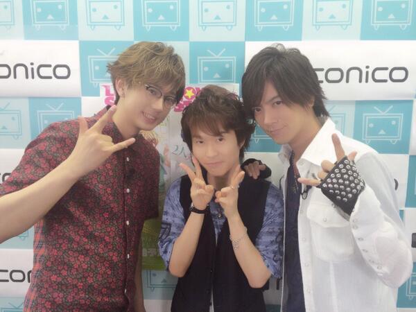 今日はDAIGO P楽しかったあ!!代永さん、江口さん、ありがとうございましたあ!٩(๑❛ᴗ❛๑)۶最後、ちょっと攻めす