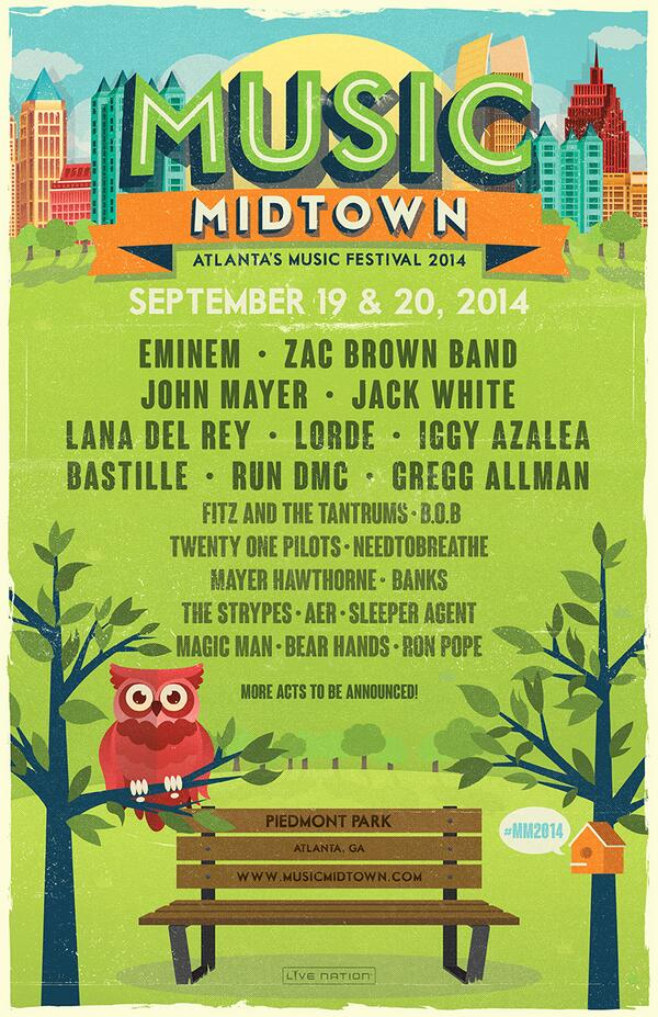 Tix On Sale this Saturday @ 10am! More info: http://t.co/5hEsM5IndH #mm2014 http://t.co/rLOgPMKRbr