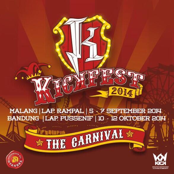 get ready for @kickfest 2014 ! buat yg pegang brand mau sponsorship / activation brand disana silahkan PM http://t.co/OB0lcCRFvo