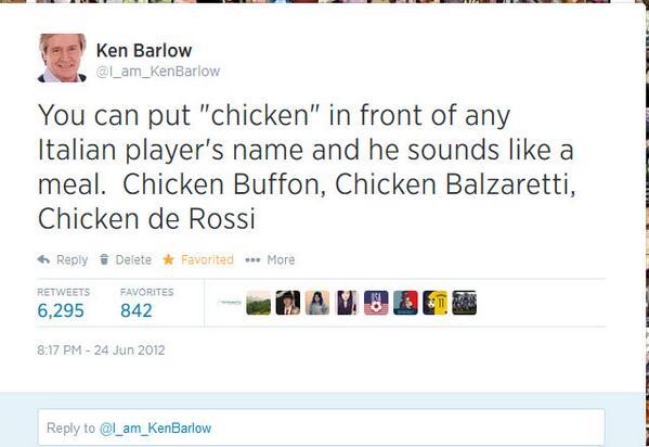 #WorldCup2014  Hope I don't get blamed for #Suarez taking me literally http://t.co/dFESJ3eLL4