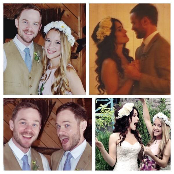 Such an amazing wedding weekend!!! yay! Were all family! @ShawnRAshmore @AaronRAshmore @ZoeKateHazel