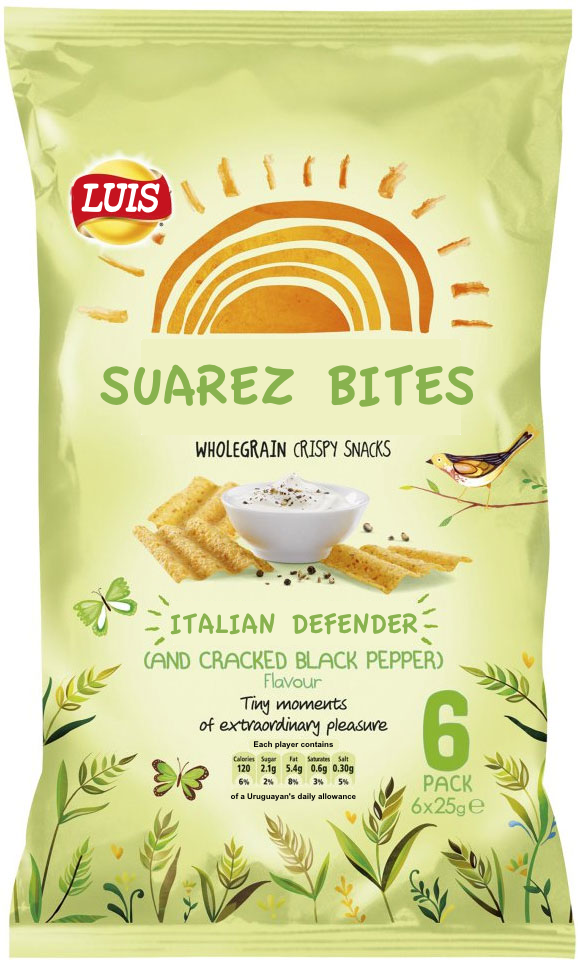 There's a tasty new summer snack on the market from today… #Suarez #BanSuarez http://t.co/J0JAyvVgnI
