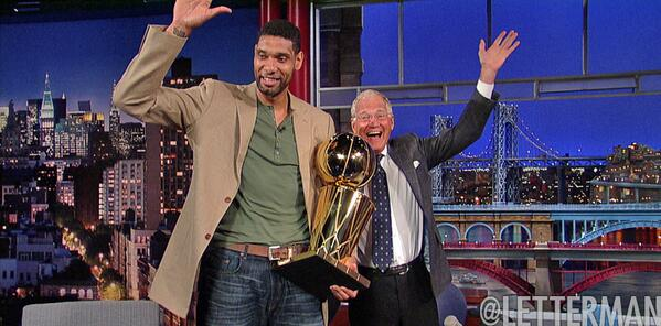 Tonight: #TimDuncan talks about his decision to stay with @NBA Champion San Antonio @Spurs! http://t.co/MFJHr2r9zo http://t.co/XQFMsY5JPL