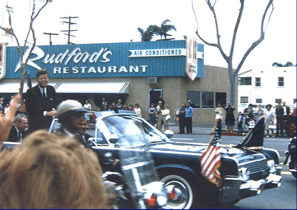 June 6, 1963, President John F. Kennedy in North Park, San Diego http://t.co/Hkn0xFbaAq