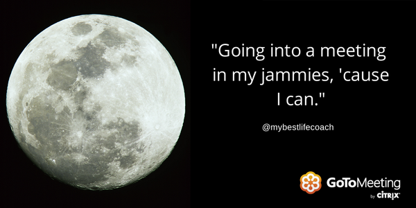 Friday the 13th AND a full moon? Take meetings from home! Cc: @mybestlifecoach  http://t.co/u0617OitbD http://t.co/NGISSGW8gl