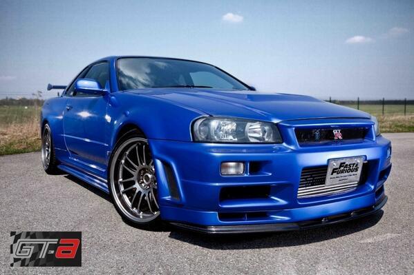 Fast&Furious R34 GT-R ⚡️ http://t.co/Bg4BqYXTX4