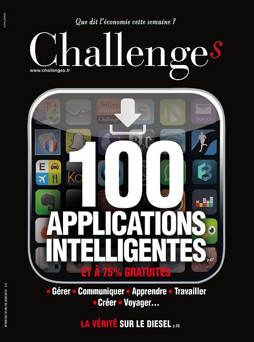 RT @jl_delloro: A ne pas rater cette semaine dans Challenges : les 100 applications pour mobiles et tablettes à télécharger http://t.co/WID5s86VAW
