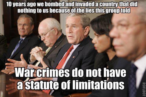 """""""@MattMurph24: Iraq War criminals http://t.co/GmWroFUTYe"""" #Bush #Benghazi"""