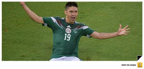 #HuevosCorazónYVerdes México contra todo pronóstico  y arbitro ganó 1-0 a Camerún. Retweet si crees en la selección. http://t.co/NFJ2YmWKFO