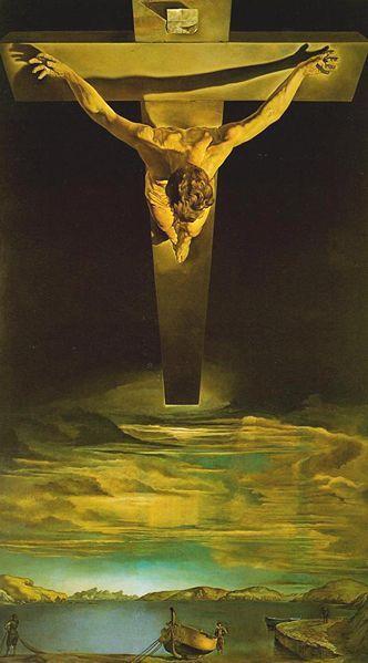 RT @artepictorico: Salvador Dalí (1904-1989), Cristo de San Juan de la Cruz, 1951, Óleo sobre lienzo http://t.co/PycpON929P