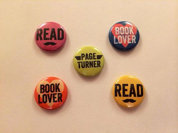 Much thanks to @VintageAnchor & @ShelfAwareness for sharing my #BookGeek Buttons on Facebook! http://t.co/Nypz6CSb1o http://t.co/2Kl9quaTdC