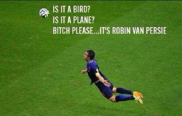 Is it a bird? Is it a plane? It's @Persie_Official!! #WorldCup #WK2014 http://t.co/PAnHYMK9RZ