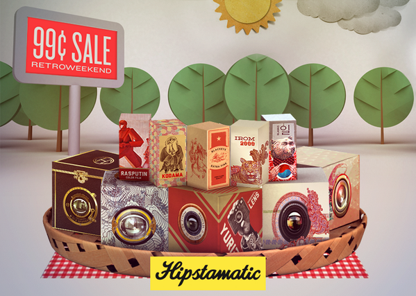 It's RetroWeekend! All our bundles are on sale for just 99¢ thru Monday, including the brand new RetroPak Five. http://t.co/yvBnXOp7E4