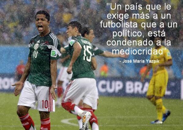 """Un país que le exige más a sus futbolistas que a sus políticos va """"rabo pa'l barranco"""". #Panamá http://t.co/z5eFVEv7kc"""