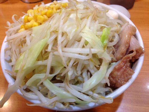 ラーメン二郎に幻の「麺なし」が存在