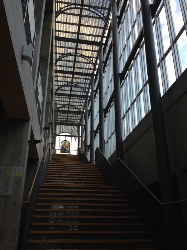 サレジオの階段 #kosenconf http://t.co/uzYF27iK5i