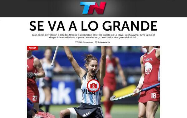 """@todonoticias: AHORA en la TAPA de http://t.co/zOufhJLrVm: SE VA A LO GRANDE  http://t.co/AGS8Ret383 http://t.co/KtXn8T3Vym"""